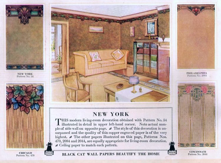 Vintage wall decor for home 1917 (5)