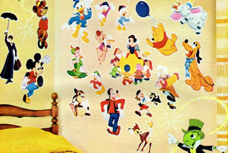Vintage wall stickers