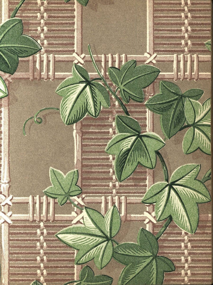 Vintage wallpaper from 1953 by Montgomery Ward (43)