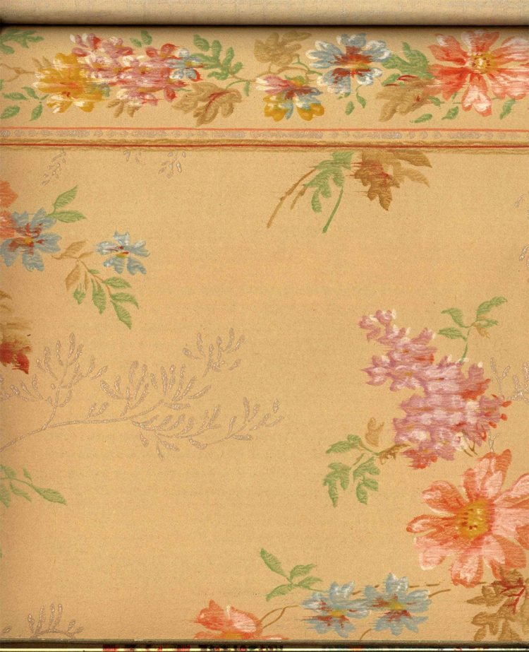 Vintage wallpaper styles from 1940 - Sears catalog (16)