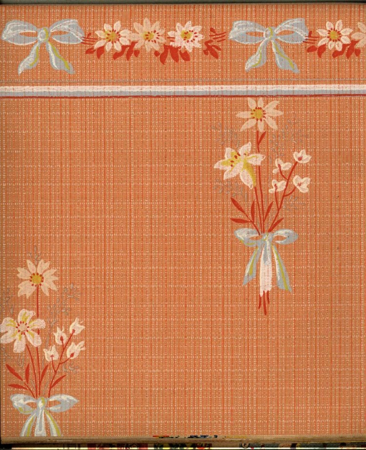 Vintage wallpaper styles from 1940 - Sears catalog (19)