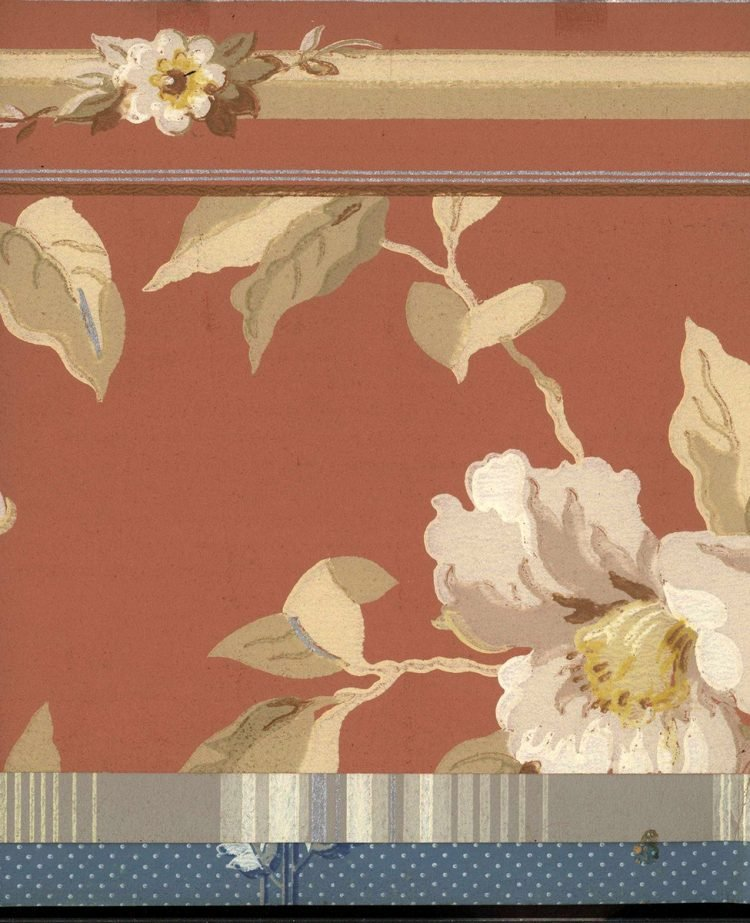 Vintage wallpaper styles from 1940 - Sears catalog (34)