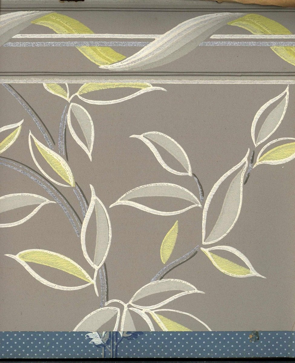 Vintage wallpaper styles from 1940 - Sears catalog (36)