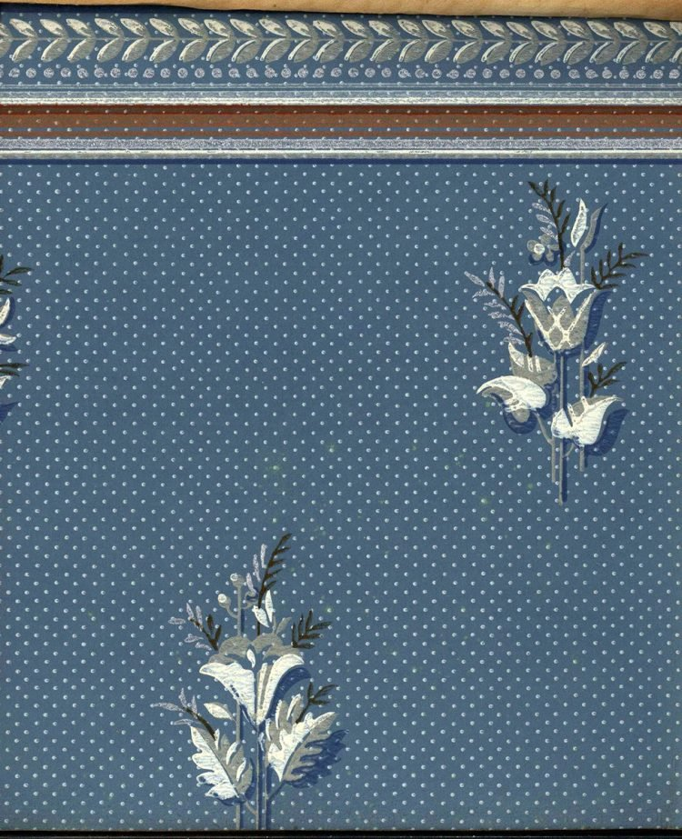 Vintage wallpaper styles from 1940 - Sears catalog (37)