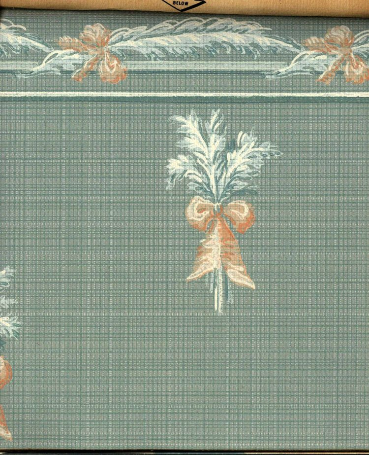 Vintage wallpaper styles from 1940 - Sears catalog (45)