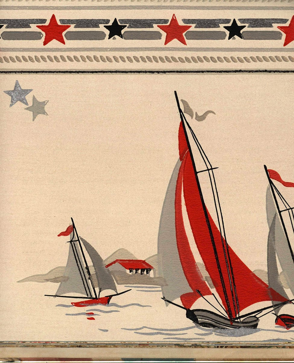 Vintage wallpaper styles from 1940 - Sears catalog (54)