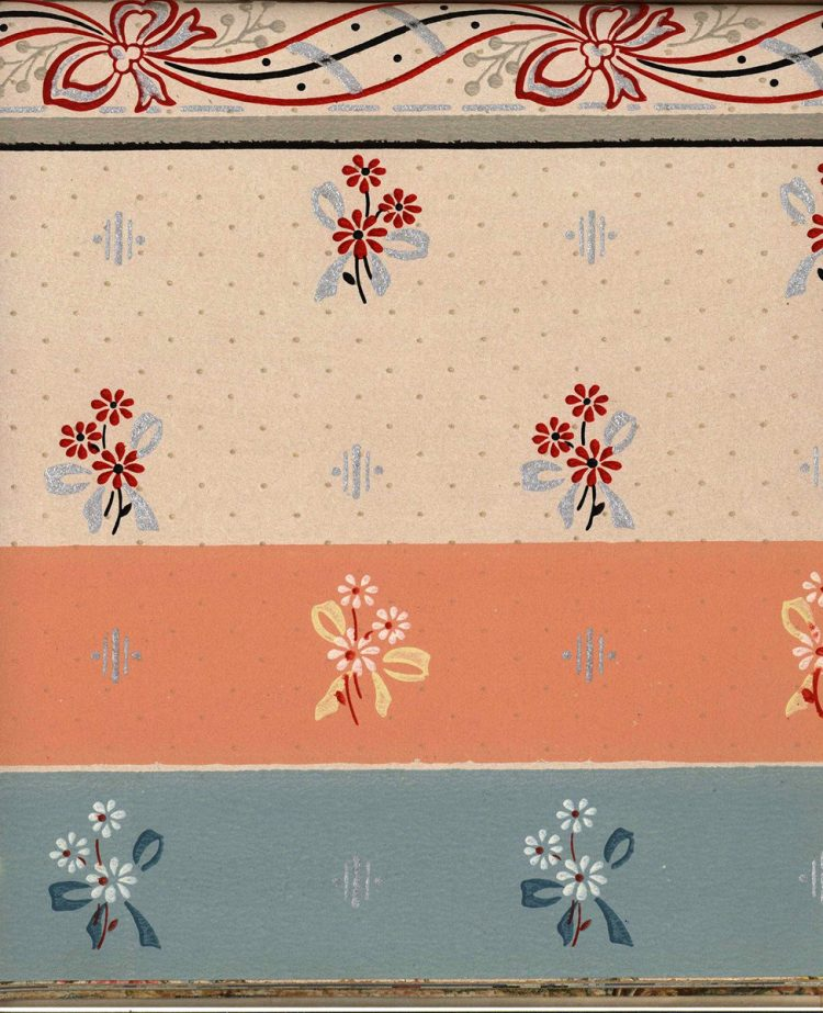Vintage wallpaper styles from 1940 - Sears catalog (55)