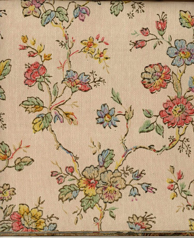 Vintage wallpaper styles from 1940 - Sears catalog (56)