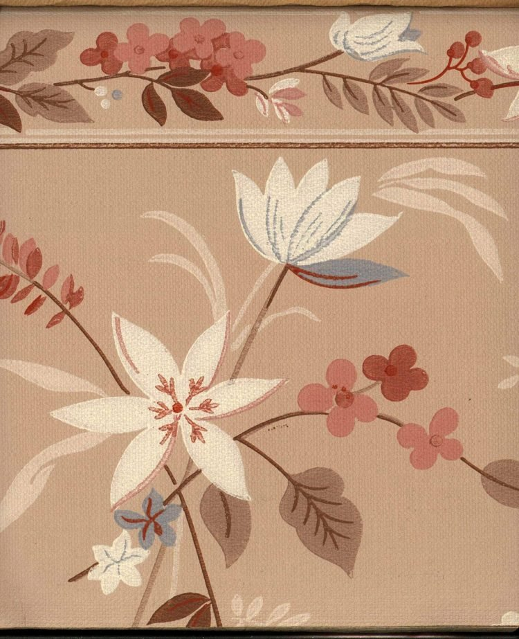 Vintage wallpaper styles from 1940 - Sears catalog (70)