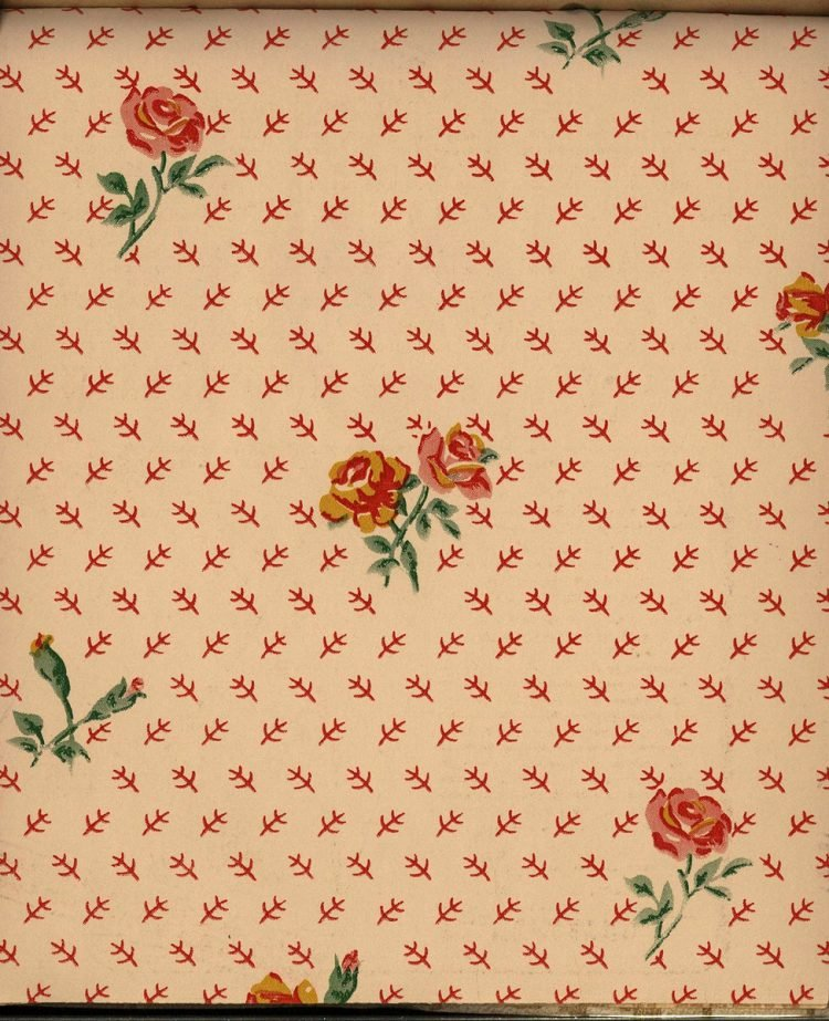 Vintage wallpaper styles from 1940 - Sears catalog (82)