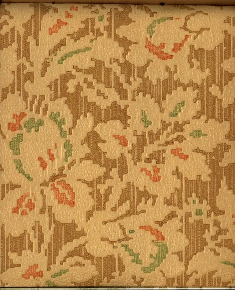 Vintage wallpaper styles from 1940 - Sears catalog (83)