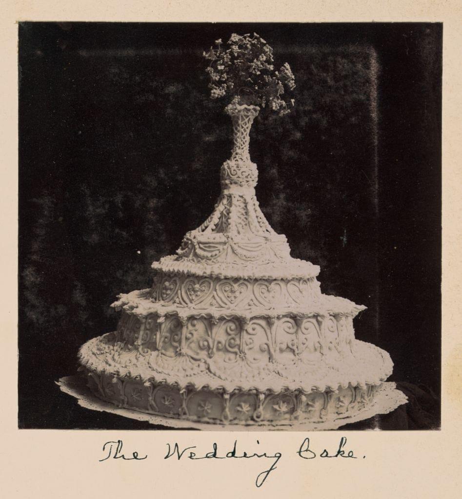 Old Fashioned Wedding Songs: Wedding Cake Recipe (1911)