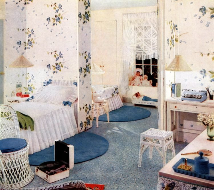 Vintage window coverings from the fifties (2)