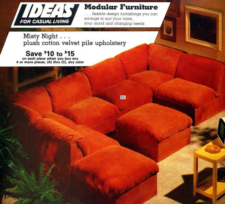 Vintage winging seventies sofas (2)