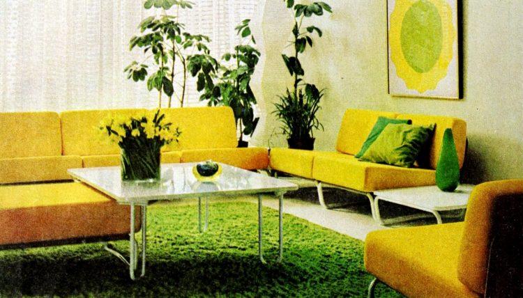 Vintage winging seventies sofas (3)