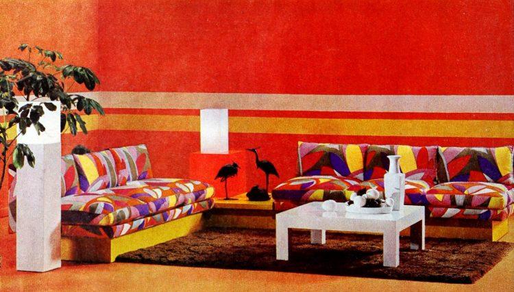 Vintage winging seventies sofas (4)