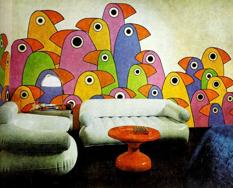 Vintage winging seventies sofas (5)