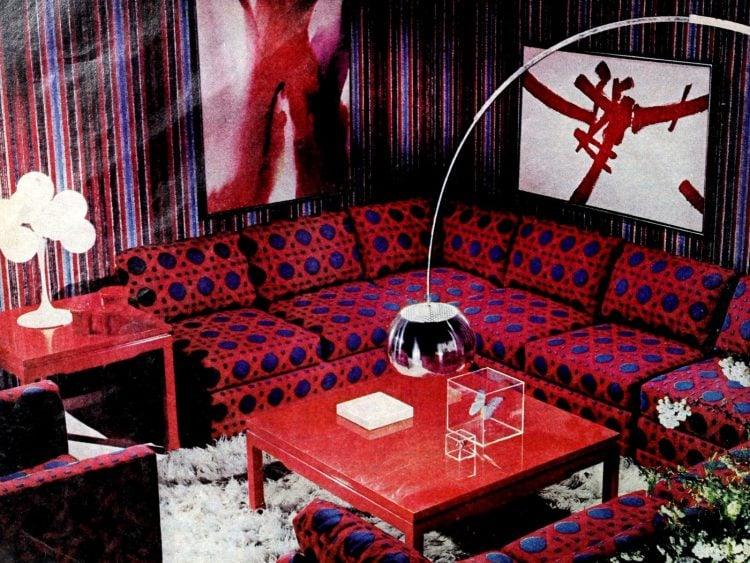 Vintage winging seventies sofas (7)