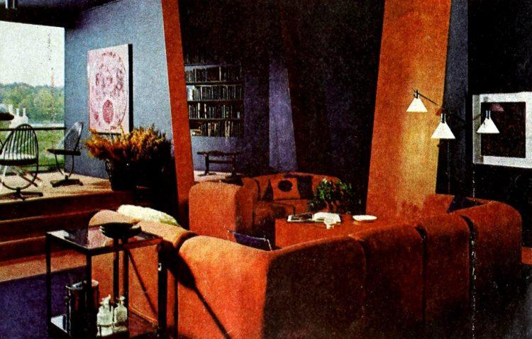Vintage winging seventies sofas (8)