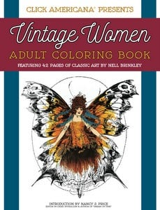 Vintage Women: Adult Coloring Book