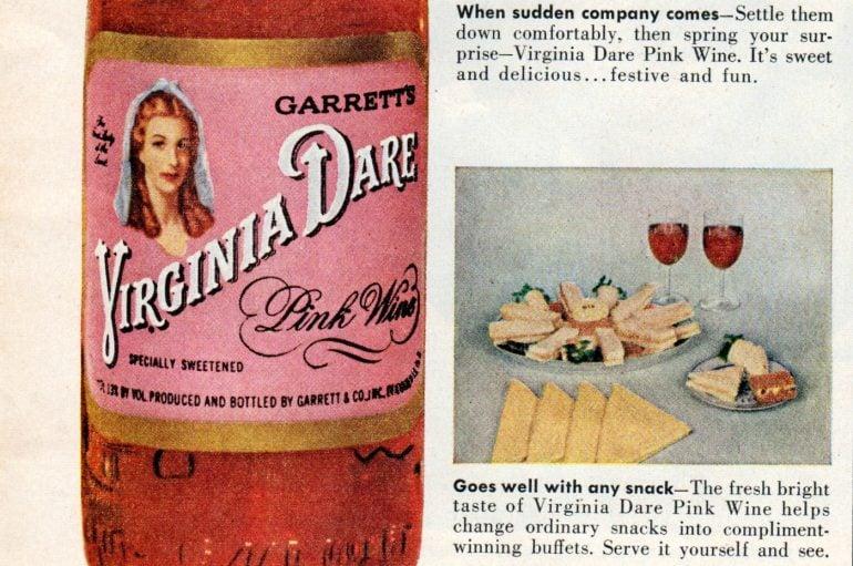 Virginia Dare Pink Wine