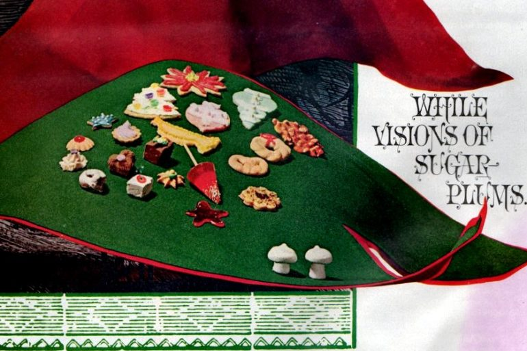 Visions of sugar plums Recipes for 14 Christmas treats (1965)