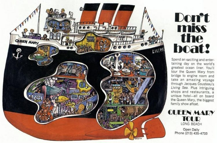 Visit the Queen Mary - 1976 1977