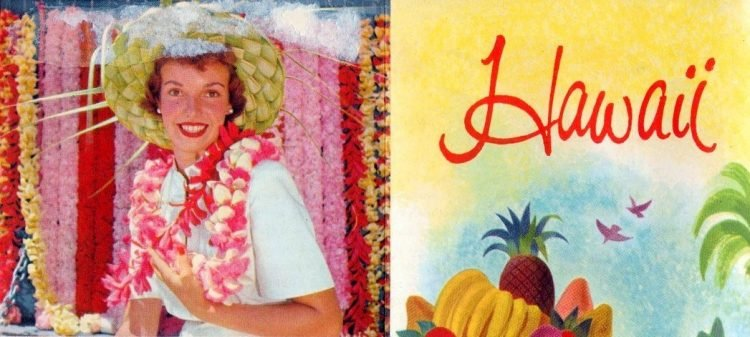 Visiting hawaii in the 1950s - vintage tourism (1)