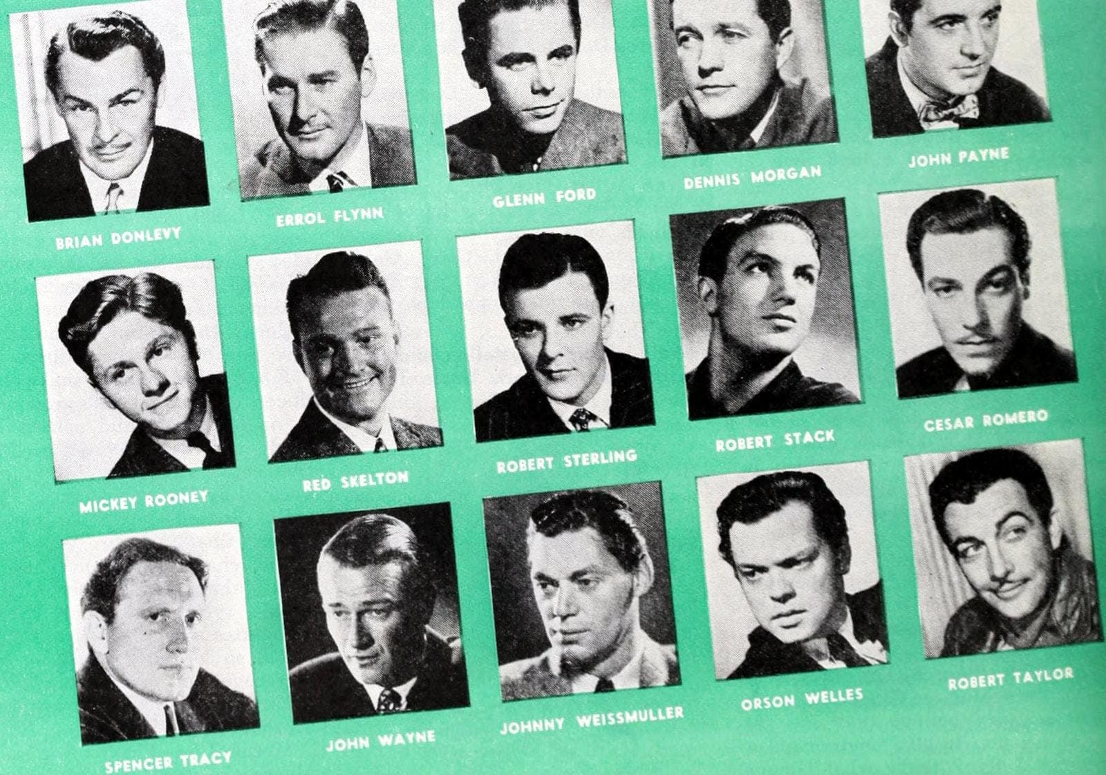 WW2 Hollywood deferments actors 1942