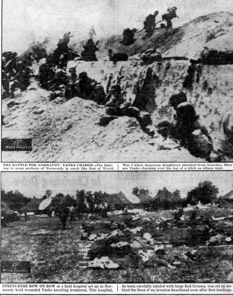 WWII D-Day Normandy invasion photos from June 10 1944 (5)