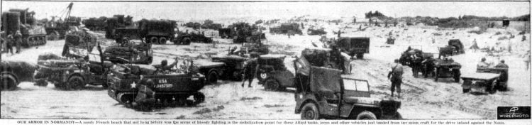 WWII D-Day Normandy invasion photos from June 12 1944 (7)