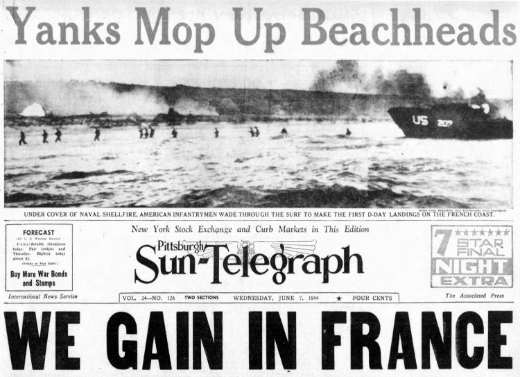 WWII D-Day Normandy invasion photos from June 7 1944 (6)