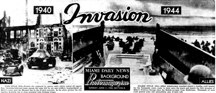 WWII D-Day invasion photos from June 11 1944 (2)