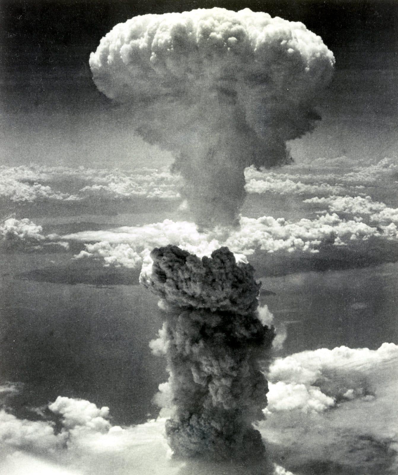 Atomic bombing of Nagasaki, Japan (1945)
