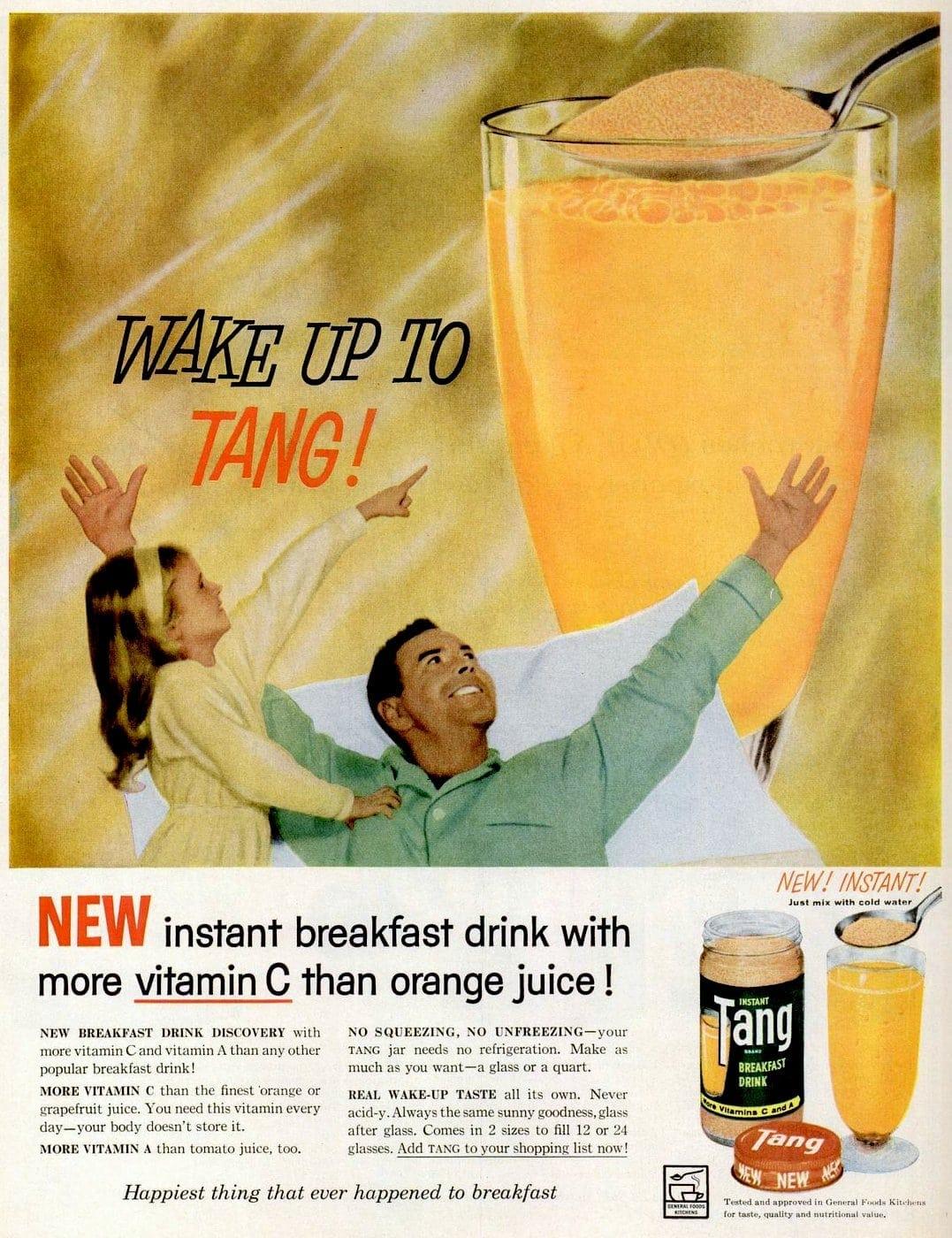 Wake up to Tang - 1959
