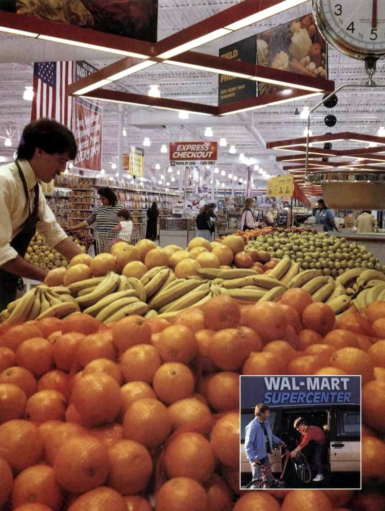 Wal-Mart shopping in the late 80s (1)