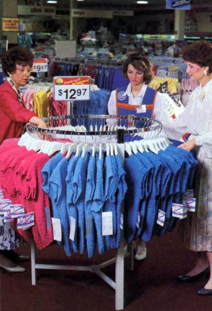 Wal-Mart shopping in the late 80s (2)