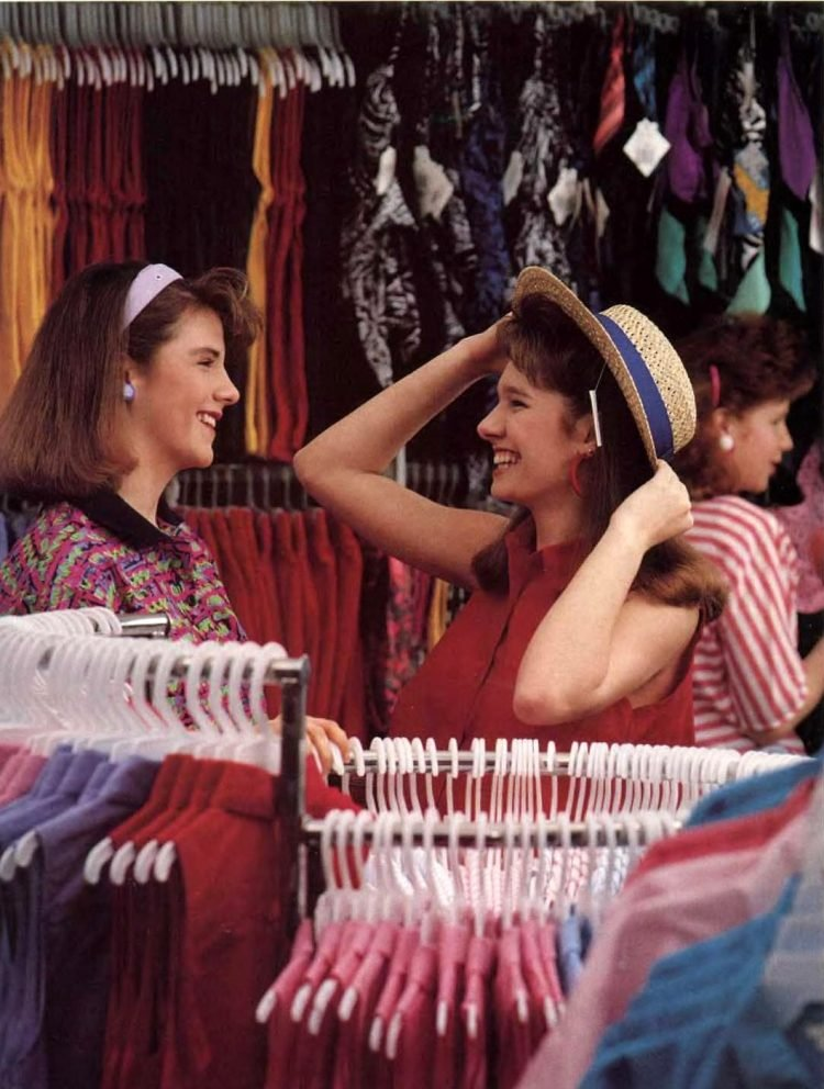 Wal-Mart shopping in the late 80s (3)