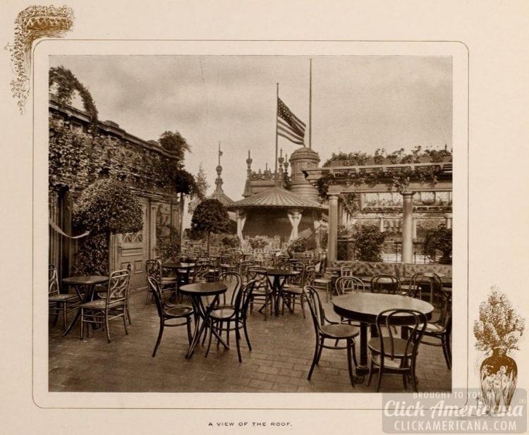 Waldorf-Astoria Hotel roof - 1903