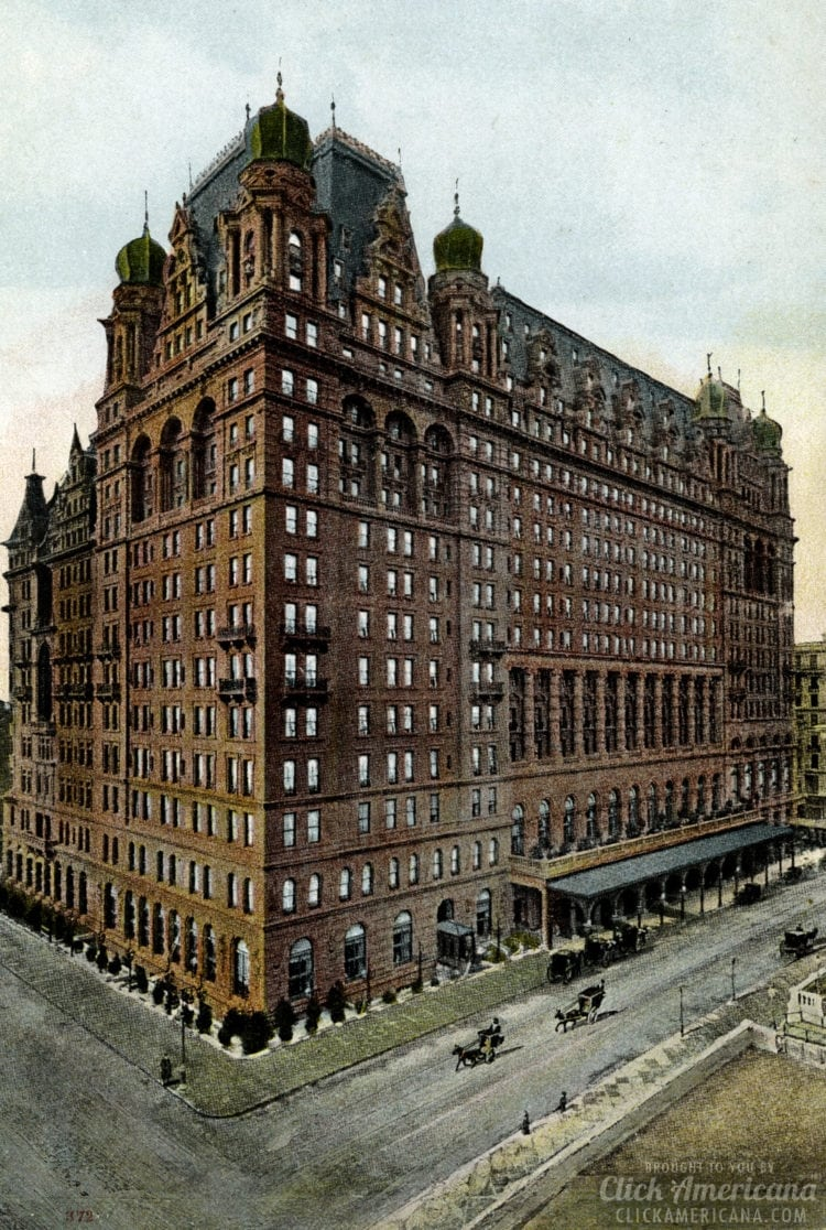 Waldorf Astoria, New York - 1909