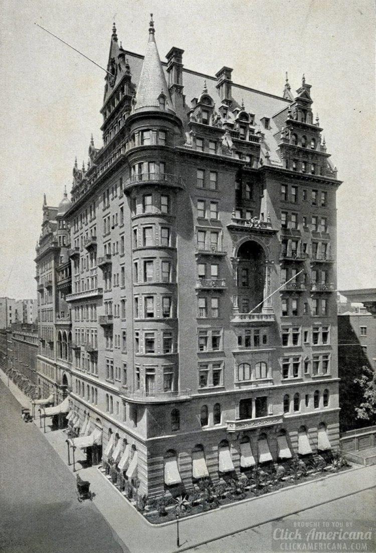 Waldorf Hotel in 1893