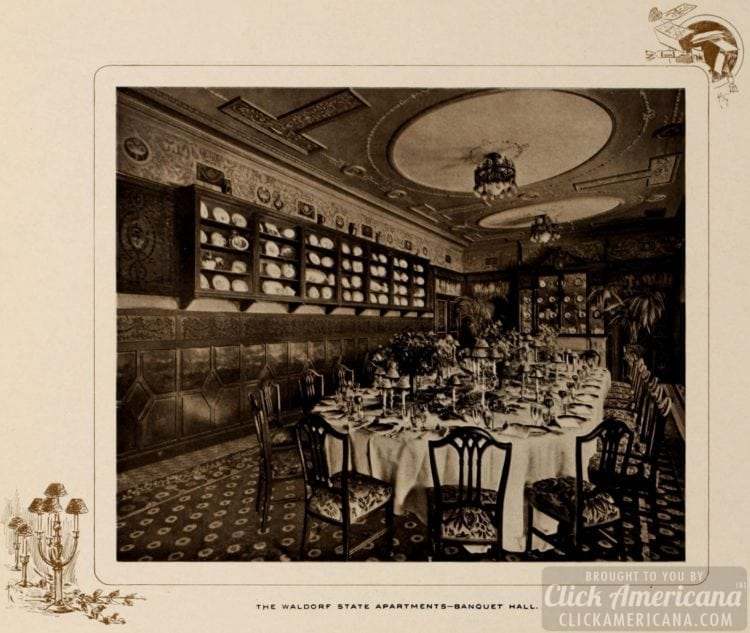 Waldorf state apartments - 1903