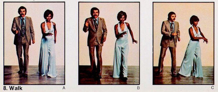 Walk 1 - Retro dance from the seventies