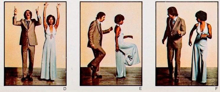 Walk 2 - Retro dance from the seventies