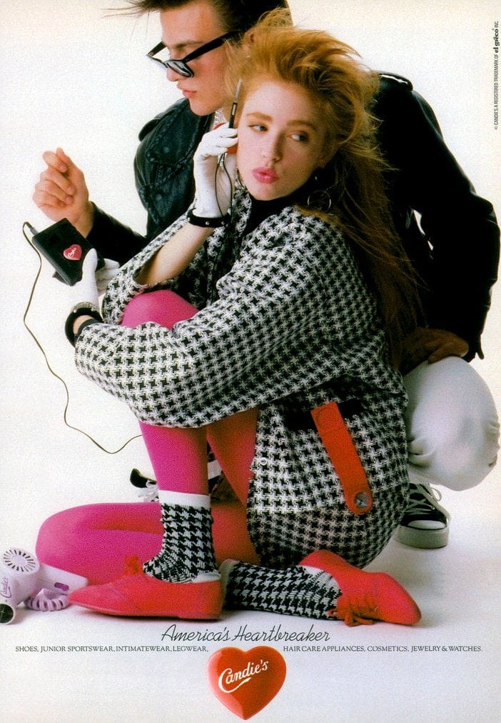 Walkman fashion from 1986 - Candie's