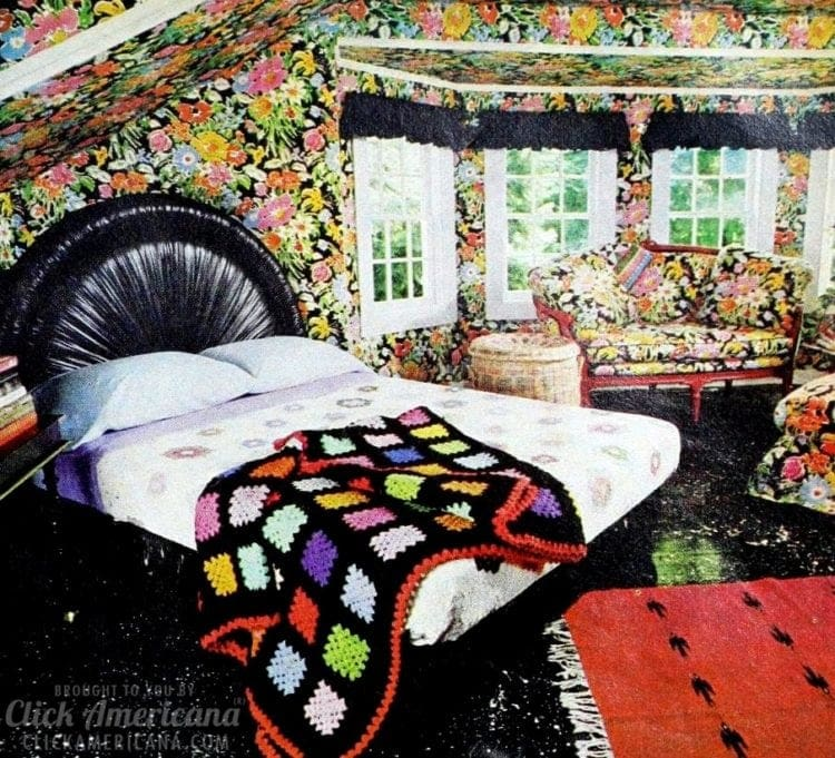 Have a colored ceiling in the bedroom