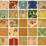 Wallpaper patterns from 1940
