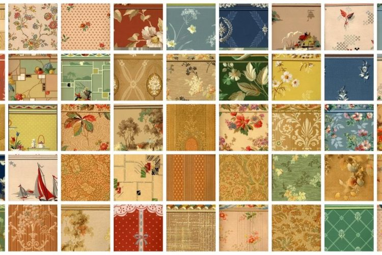 Walls With A Fashion Future Vintage Wallpaper Samples From