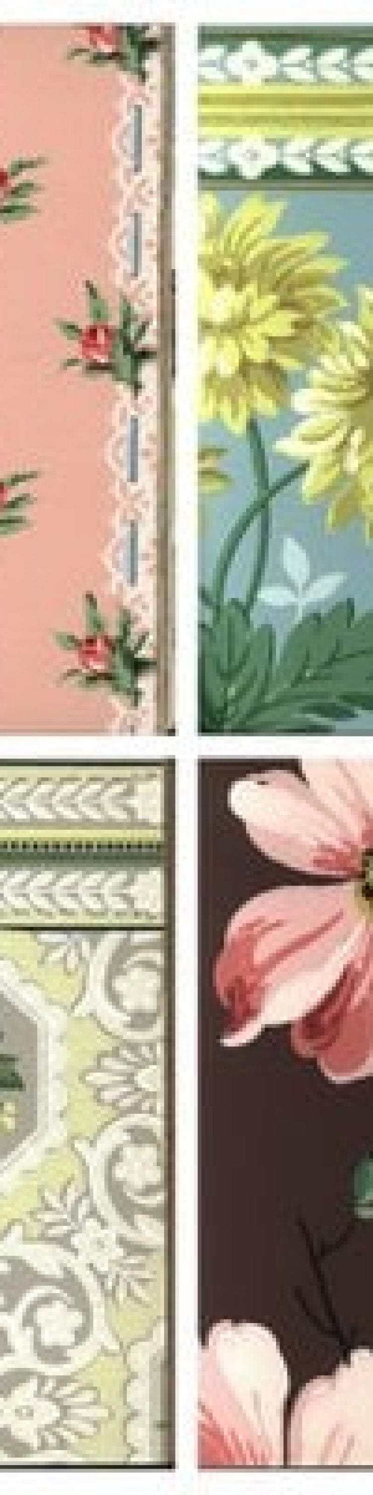 140 Vintage 1950s Wallpaper Samples For Some Real Retro Decor