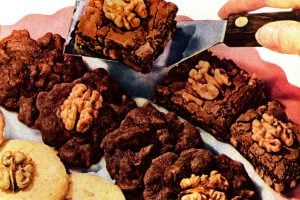 Walnut cookie recipes from 1950